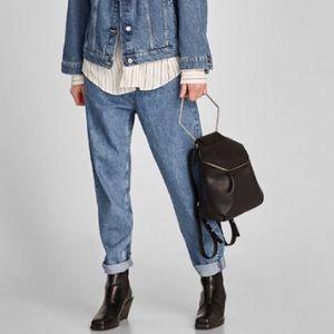 NWT Zara Hexagonal Backpack